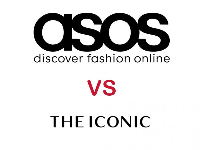 asos vs the iconic