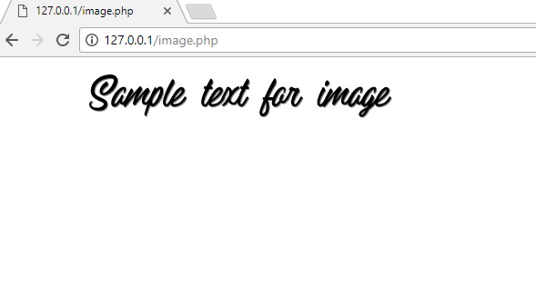 Using a dafont font with imagettftext in PHP – corbpie