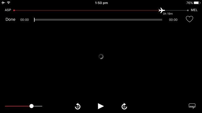 Qantas streaming app issues