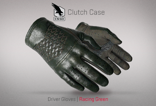 Clutch case Drive Gloves Racing Green