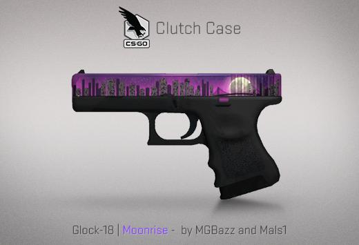 Clutch case Glock-18 Moonrise