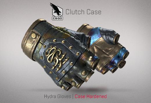 Clutch case Hydra Gloves Case Hardened