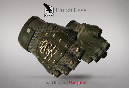 Clutch case Hydra Gloves Mangrove