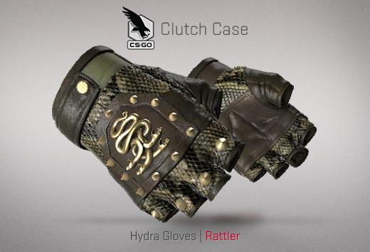 Clutch case Hydra Gloves Rattler