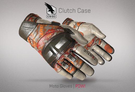 Clutch case Moto GLoves POW