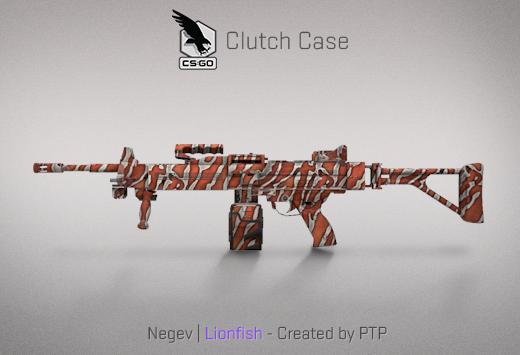 Clutch case Negev Lionfish