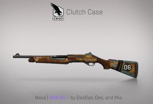Clutch case Nova Wild Six
