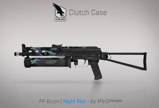 Clutch case PP-Bizon Night Riot
