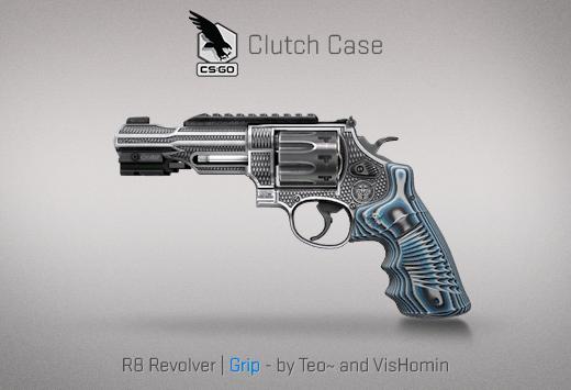 Clutch case R8 Revolver Grip