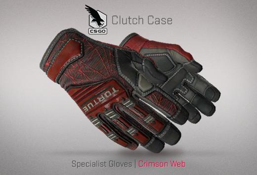 Clutch case Specialist Gloves Crimson Web