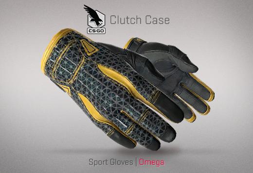 Clutch case Sports Gloves Omega