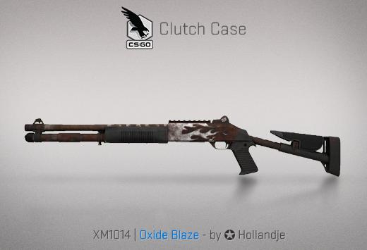 Clutch case XM1014 Oxide Blaze