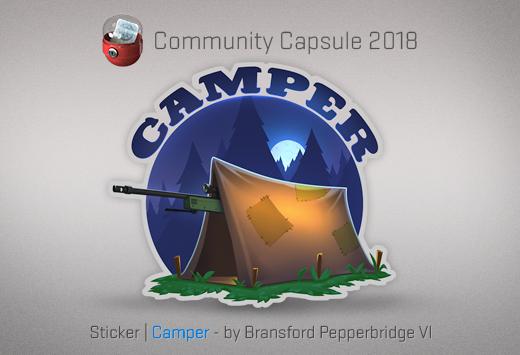 Sticker Camper