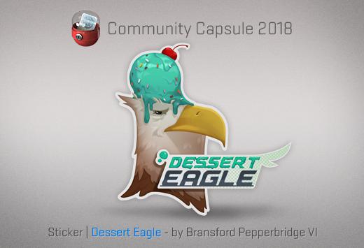 Sticker Desert Eagle