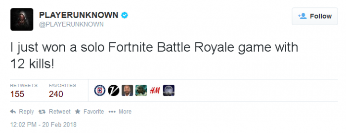 fortnite tweeter