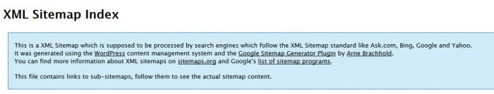 Google XML Sitemap