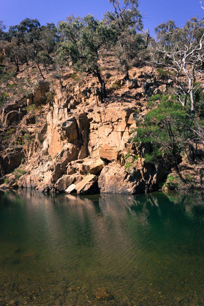 Grahams dam Lerderderg River 4
