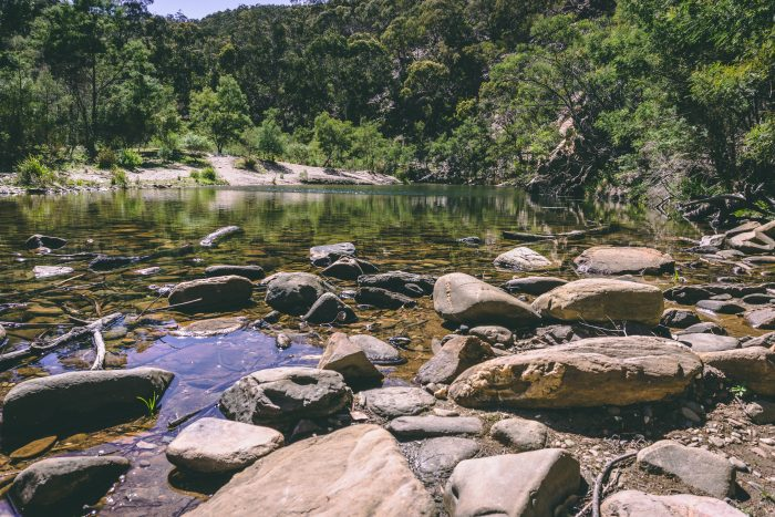 Grahams dam Lerderderg River 7