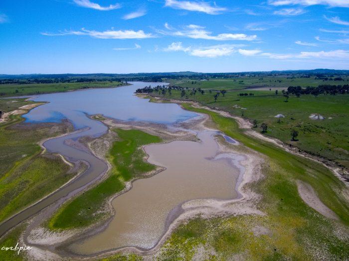 malmsbury reservoir drone dry 5