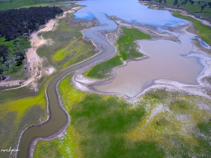 malmsbury reservoir drone dry 6