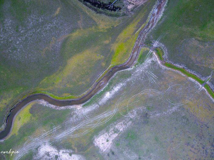 malmsbury reservoir drone dry