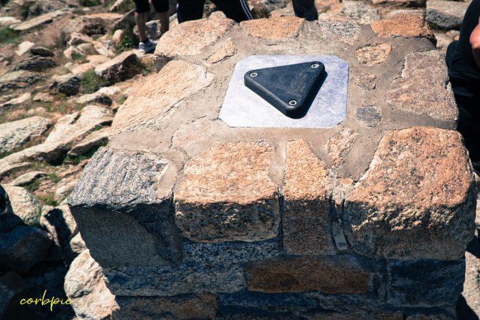 Peak of Mt Kosciuszko Summer 2019