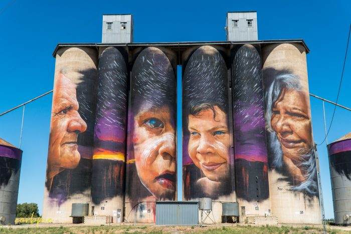 Sheep hills silo art silo trail 2019