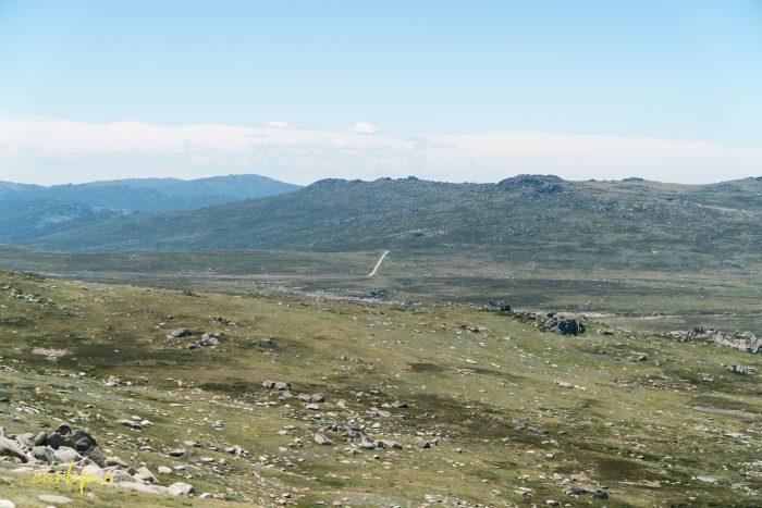 distant path Mt Kosciuszko Summer 2019