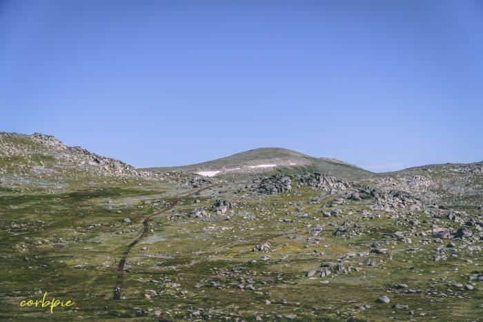 vast landscape Mt Kosciuszko Summer 2019