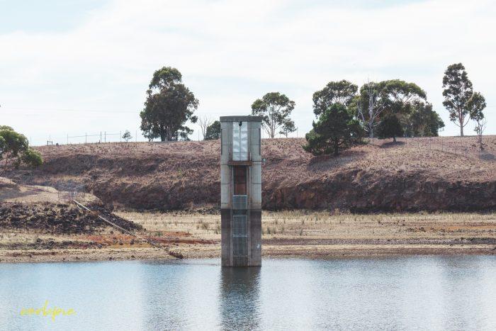 Tullaroop Reservoir intake tower