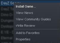 DayZ server setup install