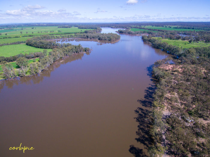 Laanecoorie Reservoir drone 2