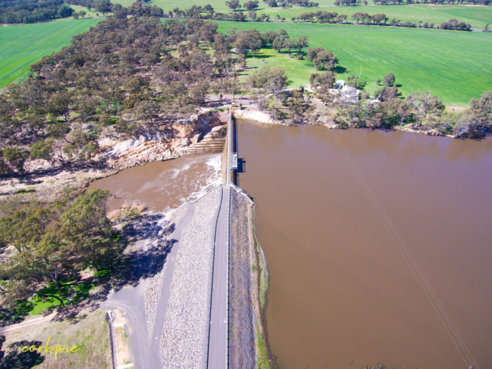 Laanecoorie Reservoir drone 3