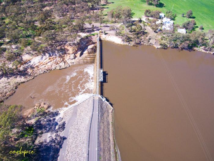 Laanecoorie Reservoir drone 4