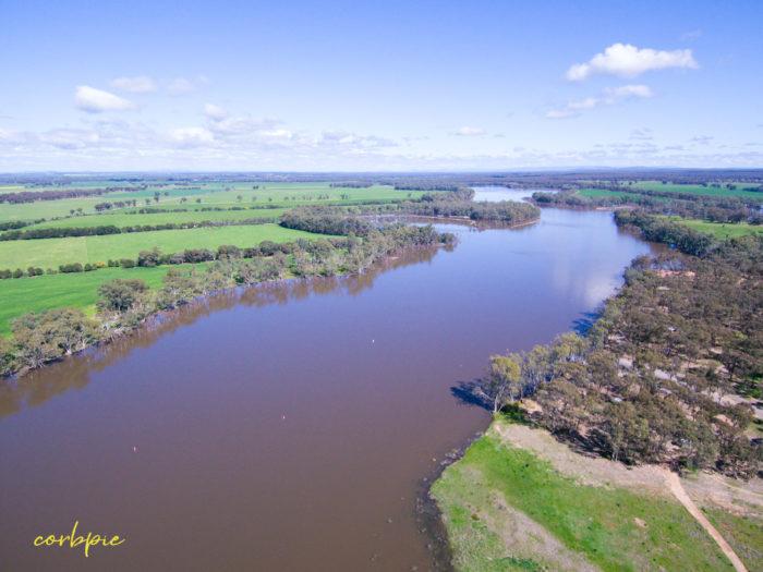 Laanecoorie Reservoir drone 5
