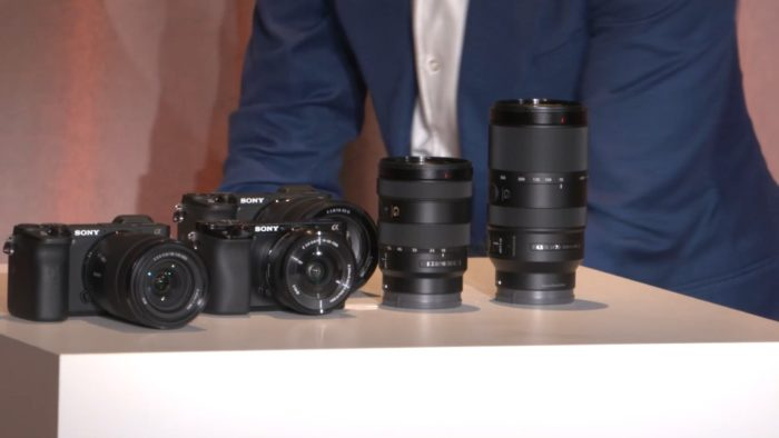 sony a6600 and a6100 camera release