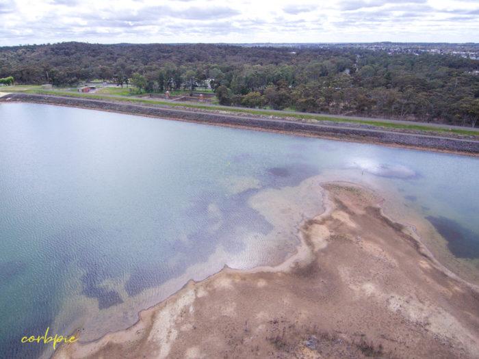 A Drying out Crusoe Reservoir Bendigo