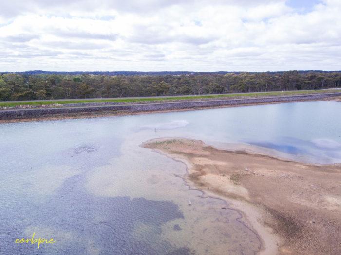 Crusoe Reservoir drone 14
