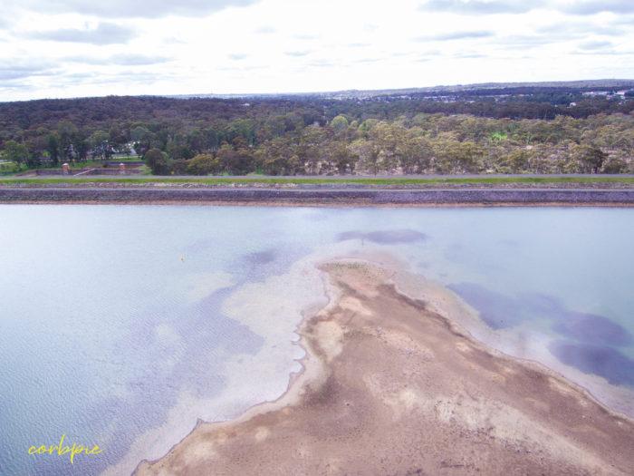 Crusoe Reservoir drone 2