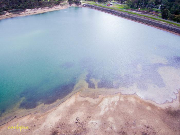 Crusoe Reservoir drone 4