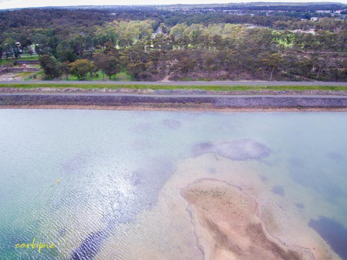 Crusoe Reservoir drone 6