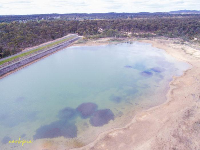 Crusoe Reservoir Bendigo shallows