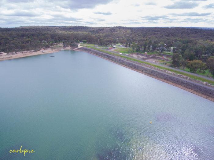 Crusoe Reservoir drone 8