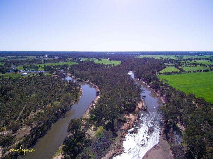 Goulburn Weir drone 3.