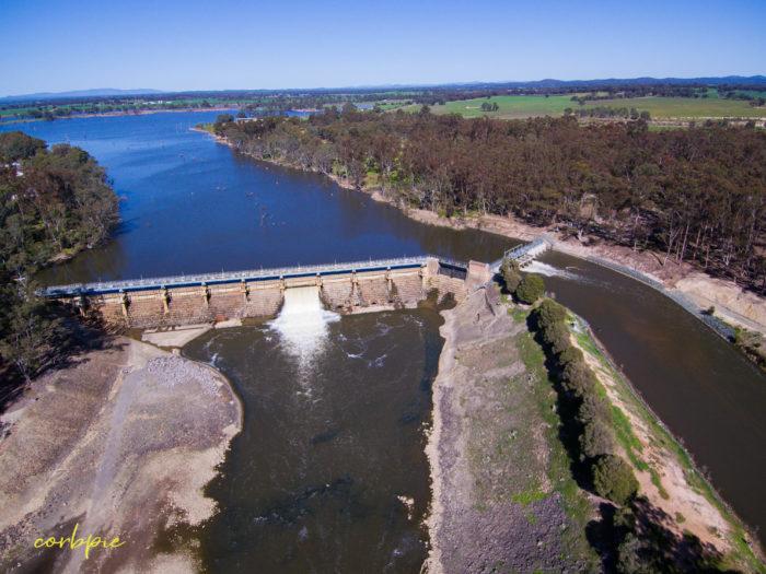 Goulburn Weir drone 9