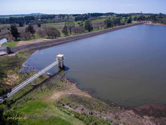 malmsbury reservoir drone 1
