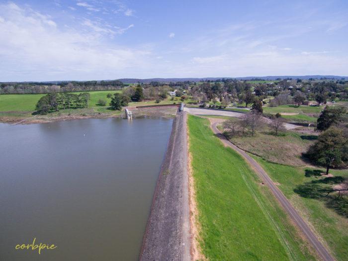 malmsbury reservoir drone 12