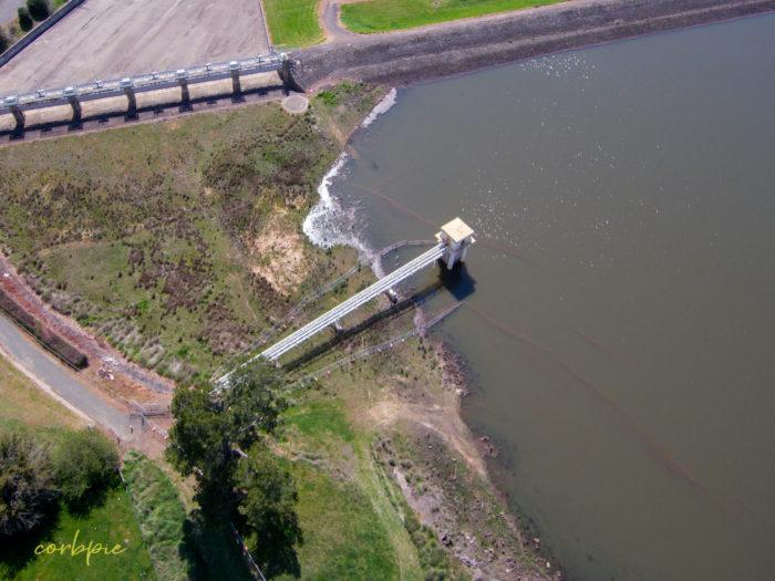 malmsbury reservoir drone 2