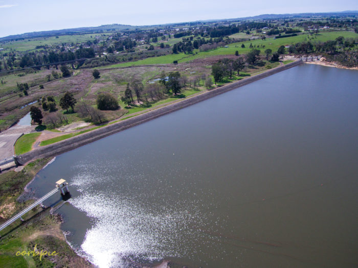 malmsbury reservoir drone 3