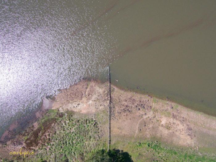 malmsbury reservoir drone 5